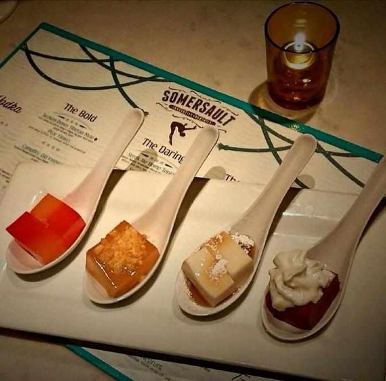 Somersault Edible Cocktails | Courtesy of Somersault Innovative Cocktails