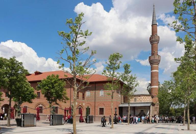 Haci Bayram Mosque, Ankara l © Bernard Gagnon/WikiCommons
