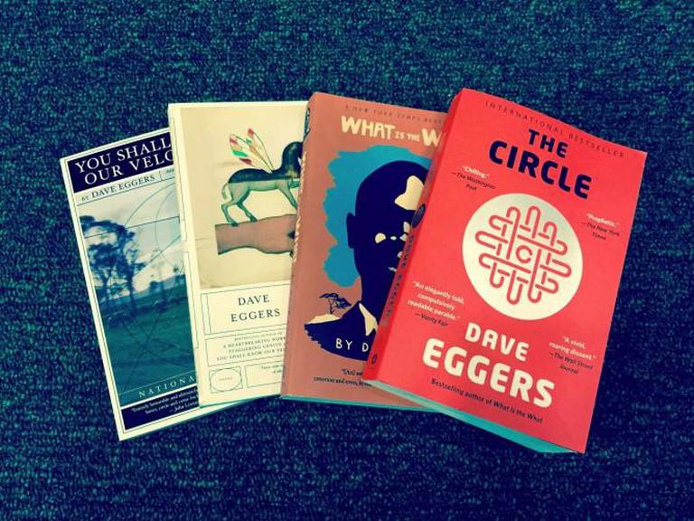 Dave Eggers novels | © Danika Peterson