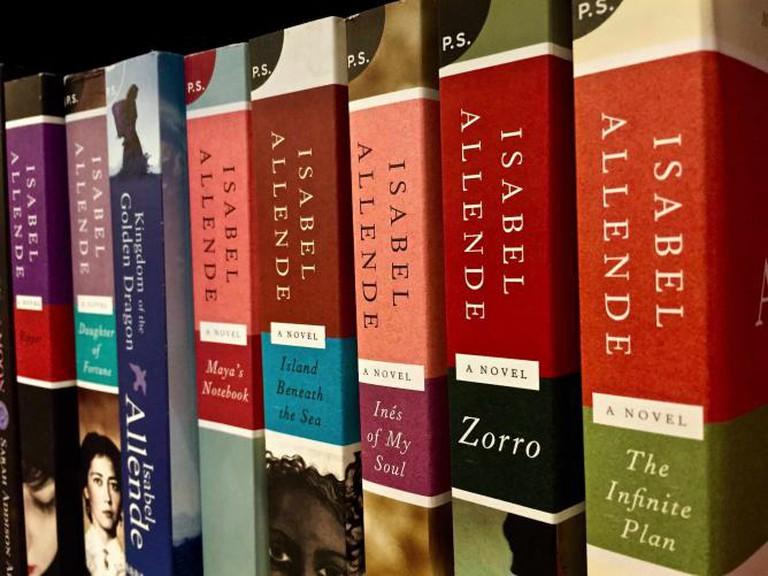 Isabel Allende novels | © Danika Peterson