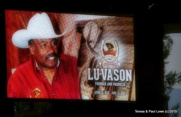 Lu Vason, the creator of the Bill Pickett Rodeo Invitational | ©BillPicketRodeo