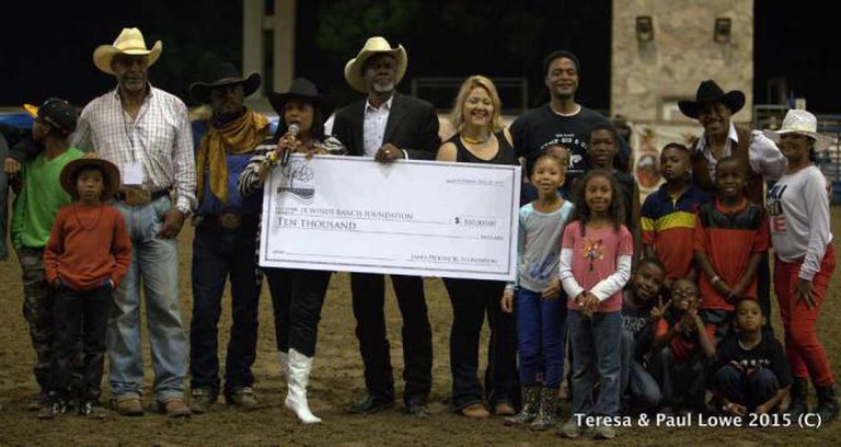 This rodeo also serves as a fundraiser for child educational foundations | ©BillPicketRodeo