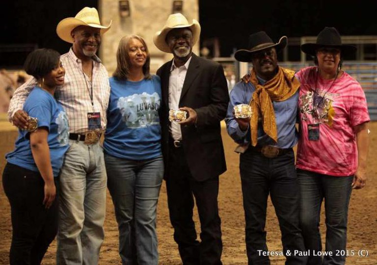 Celebrity African American cowboys are honored | ©BillPickettRodeo