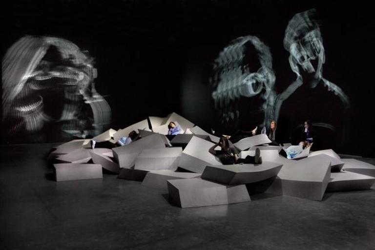 Acquaalta by Celestine Boursier-Mougenot   Palais de Tokyo, Paris