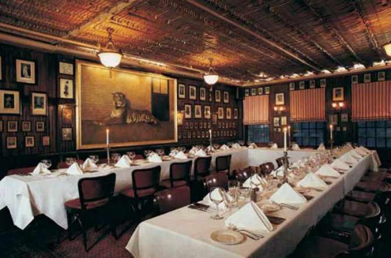 Lamb's Room   Courtesy of Keens Steakhouse