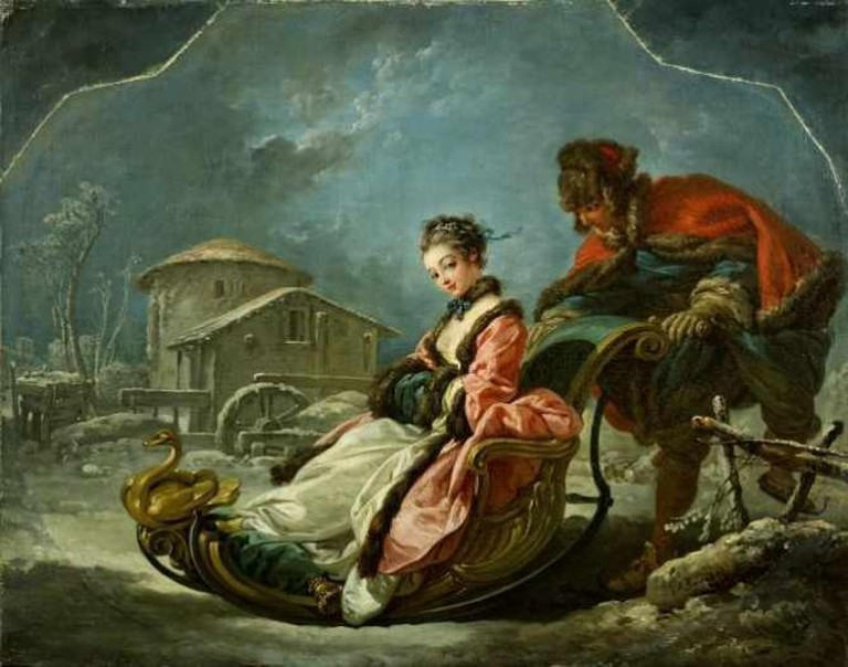 François Boucher The Four Seasons: Winter | Wikimedia Commons