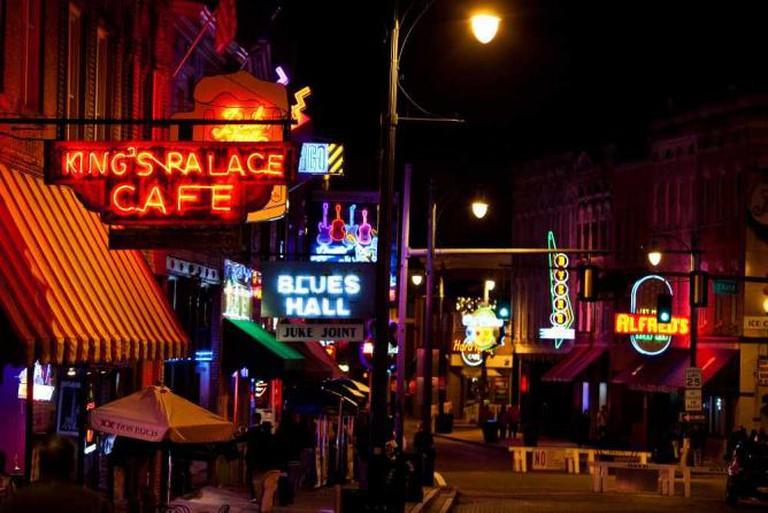 Beale Street, Memphis | © Thomas Hawk/Flickr