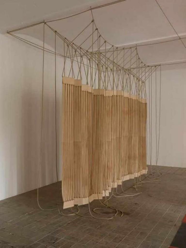 Leonor Antunes | Courtesy Galeria Luisa Strina, São Paulo. Photo: Nick Ash