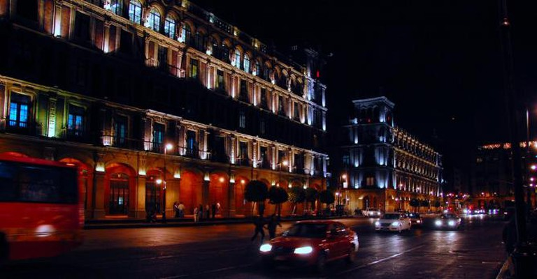 Mexico City by night | © LWYang/Flickr