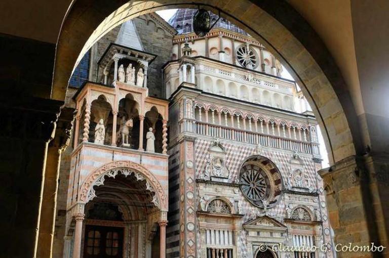 The façade of Cappella Colleoni   © Claudio Colombo/Flickr