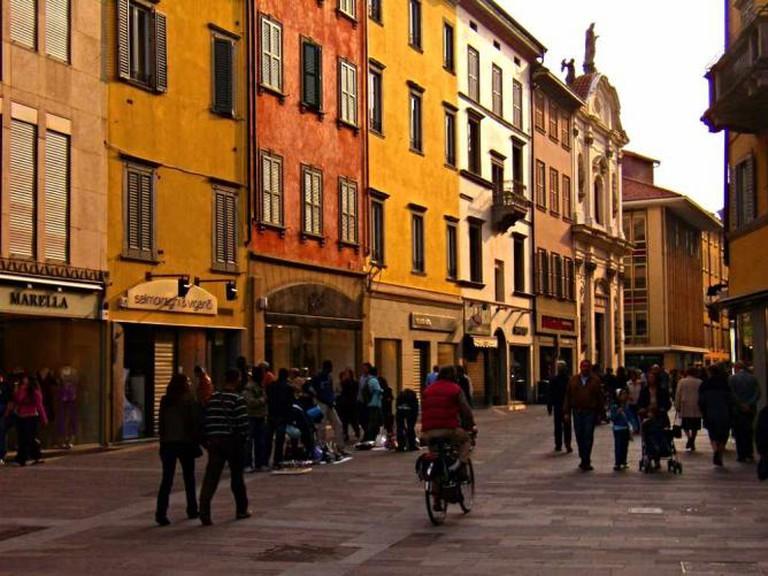 Bergamo, Via XX settembre   © Gipiosio Gipiosio/Flickr