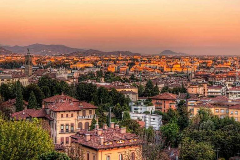 Bergamo's skyline   © Nico Trinkhaus/Flickr