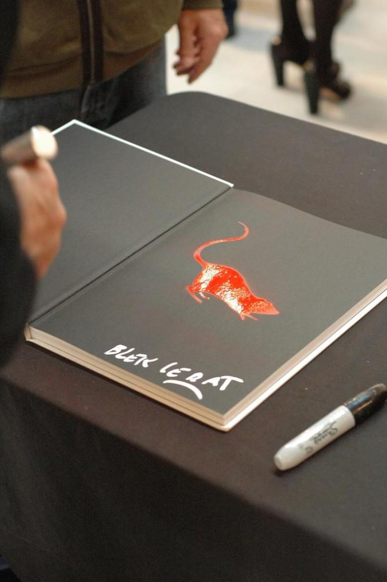 Blek le Rat's signature | © Kevin Collins/Flickr
