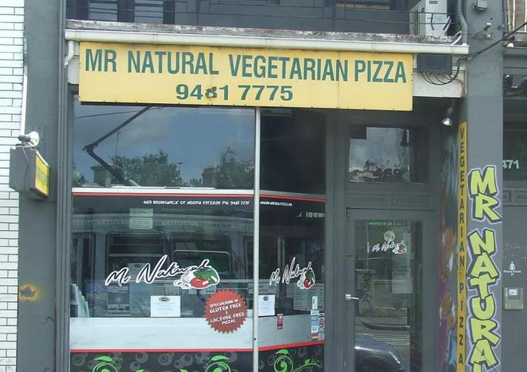 Mr Natural Vegetarian Pizza © David Jackmanson/Flickr