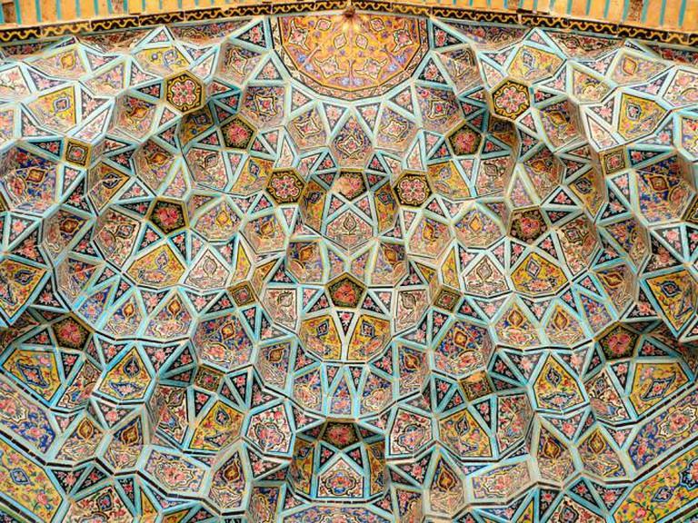 Vault at Nasir ol-Mulk Mosque, Shiraz | © dynamosquito/Flickr