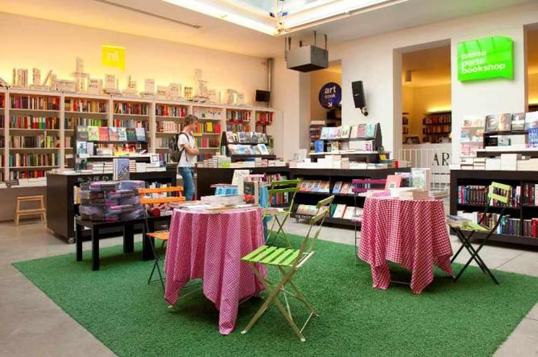 Interior of Passa Porta | Courtesy of Passa Porta Bookshop