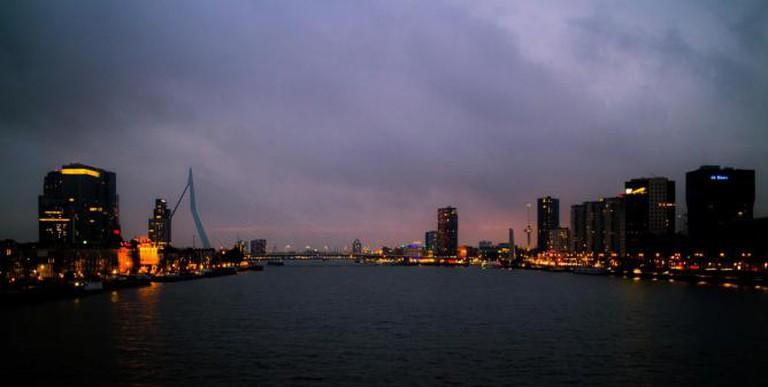 City Lights of Rotterdam l © Eddy BERTHIER/Flickr