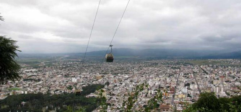 Panoramic view of Salta from Cerro San Bernardo Ⓒ M.K.O/Flickr