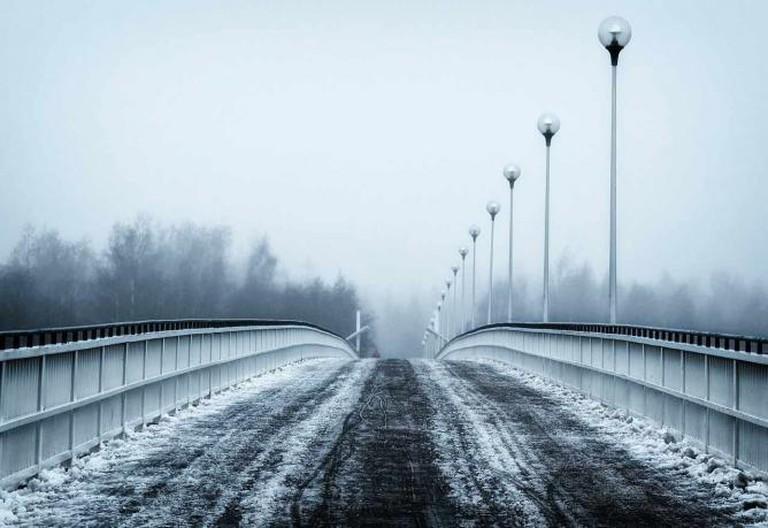 A bridge in winter in Finland   © tpsdave/pixabay