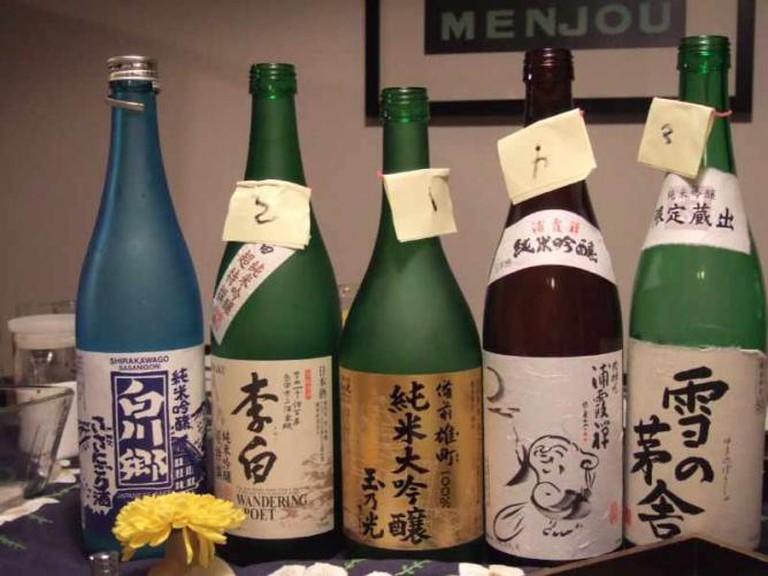 Sake | © tokyofoodcast