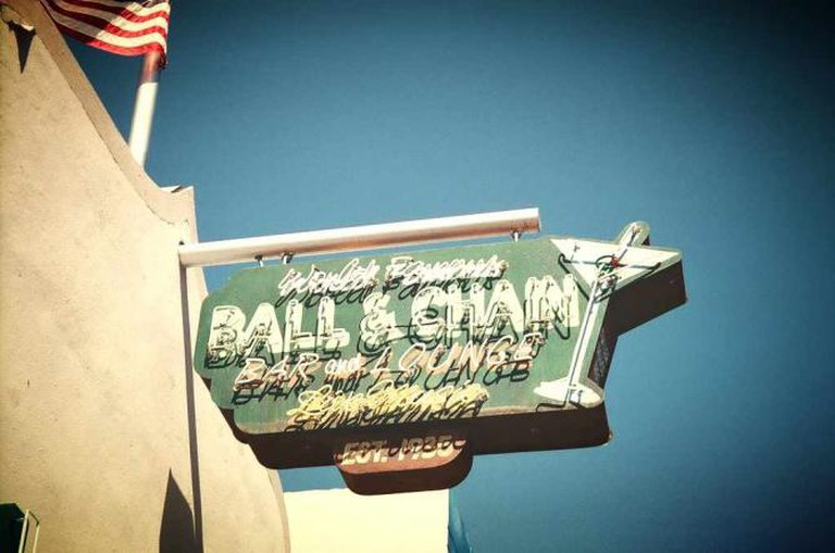 Ball & Chain sign, Little Havana
