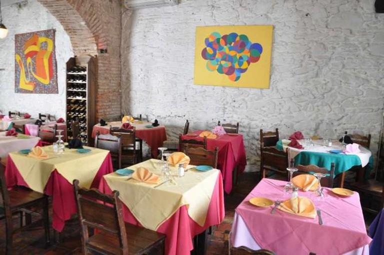 Pulpería de los Faroles Restaurant © Ricarda Reininger