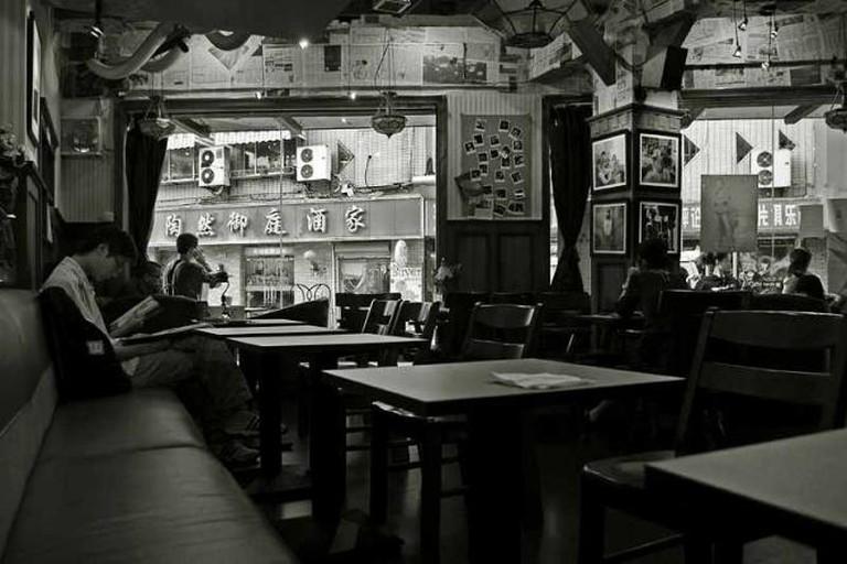 The interior of Marienbad Café © 2 dogs/Flickr