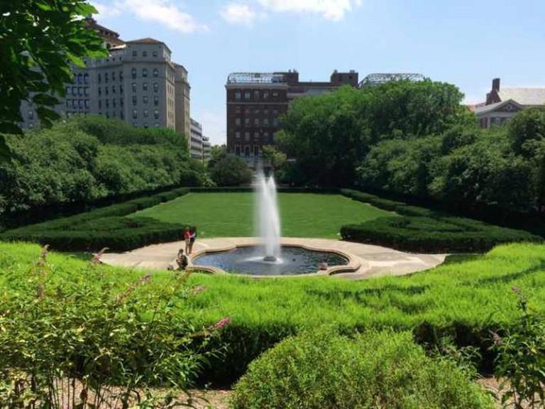 Italianate Garden at the Conservatory Garden | © Bb337/WikiCommons