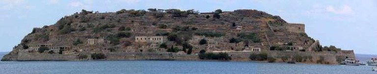 Panoramic view of Spinalonga | © PawełMM/WikiCommons