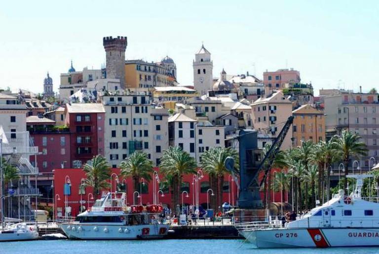 Genoa's harbor | © Antonio Fabiano/Flickr