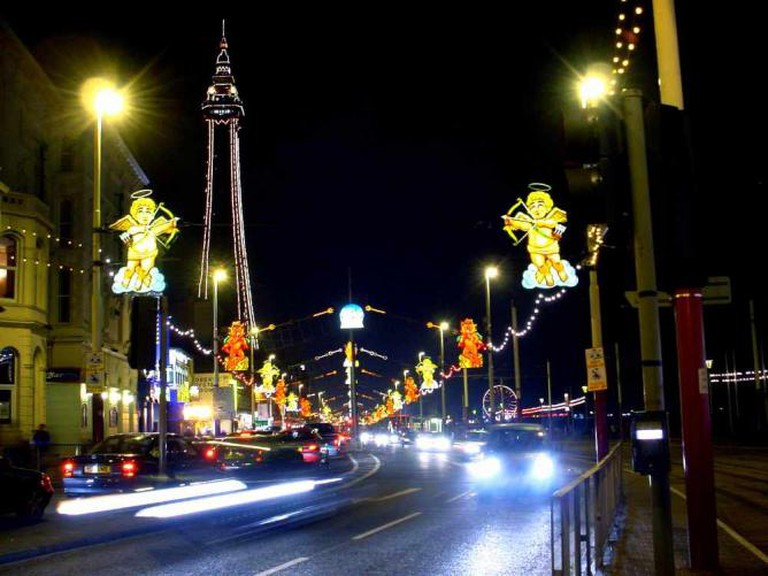 Blackpool's famous Illuminations | © Mark S Jobling/WikiCommons