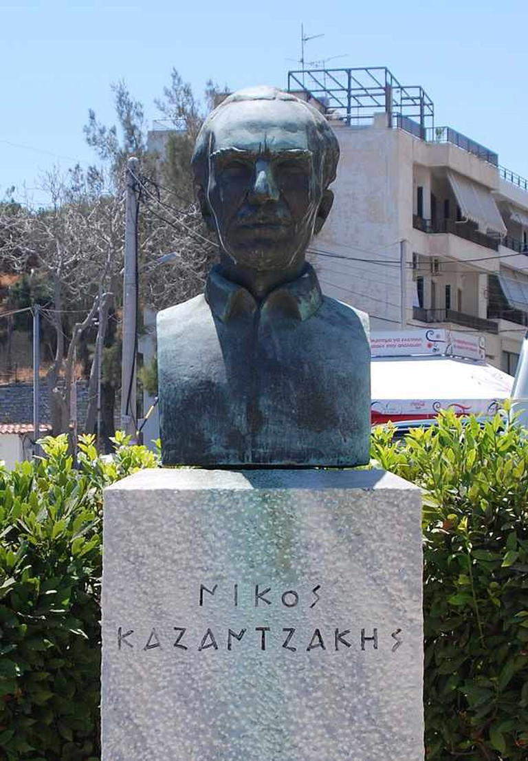 Kazantzakis' bust in Heraklion | © Nikos Armutidis/WikiCommons