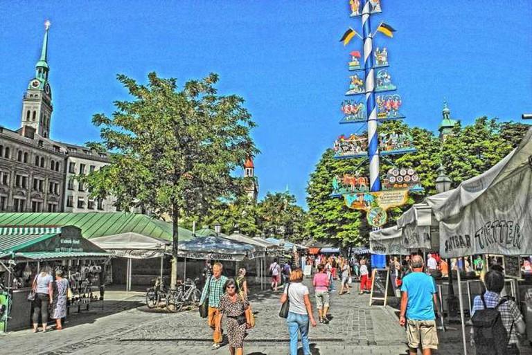 Viktualienmarkt | © Guido Radig/WikiCommons