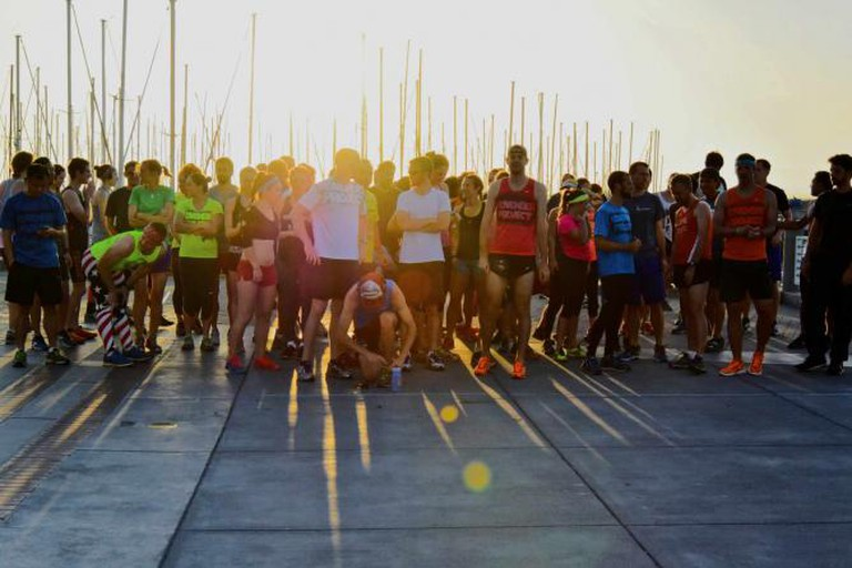 November Project Sunrise 6k in Giants Promenade | © Paddy, november-project.com
