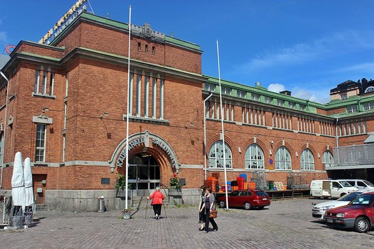 Hakaniemi Food Hall Helsinki