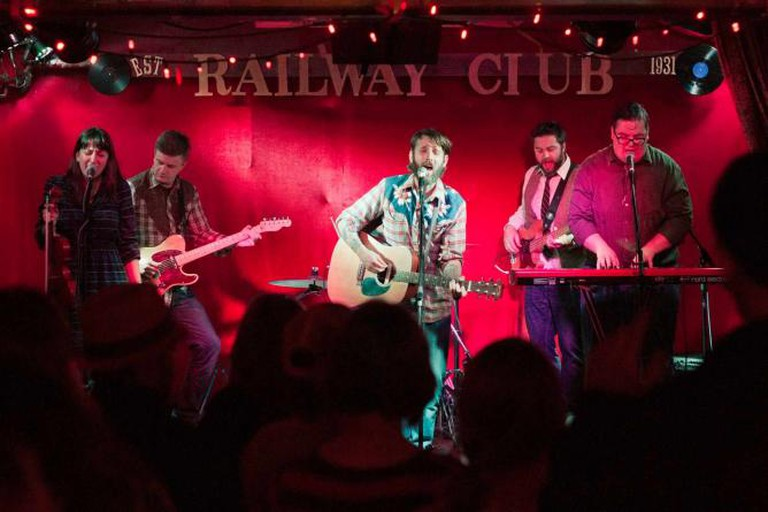 The Strumbellas perform at The Railway Club