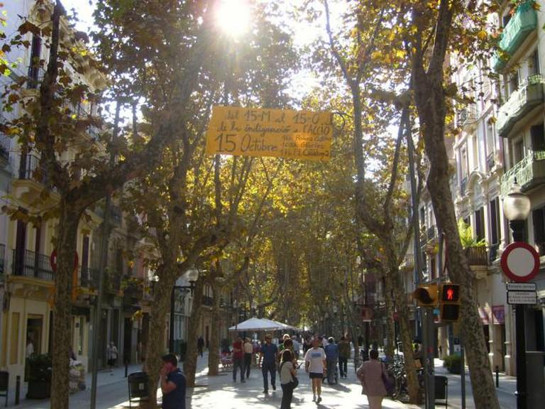 Rambla de Poble Nou © Oh-Barcelona.com