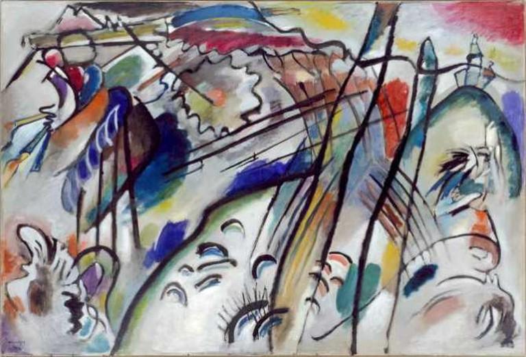 Vasily Kandinsky, Improvisation 28, Solomon R. Guggenheim Museum, New York | ©Solomon R. Guggenheim Founding Collection