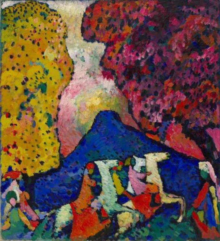 Vasily Kandinsky, Blue Mountain, Solomon R. Guggenheim Museum, New York | ©Solomon R. Guggenheim Founding Collection