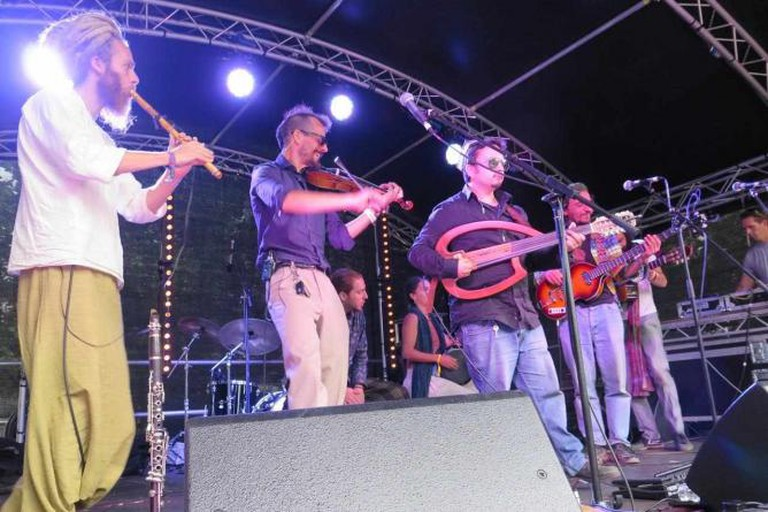 The Turbans perform on the main stage | Courtesy of Keeley Hazell