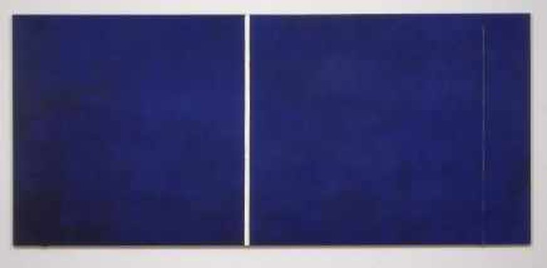 Barnett Newman, Cathedra, 1951. c/o Pictoright, Amsterdam 2004