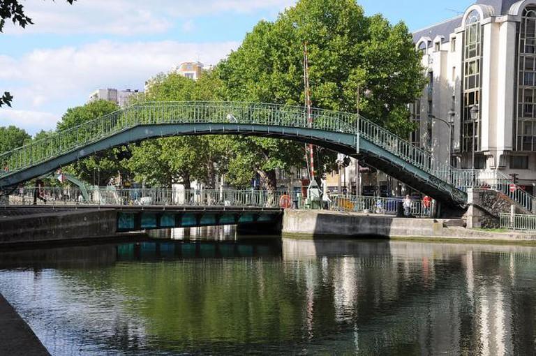 Canal Saint Martin | © Moonik/WikiCommons
