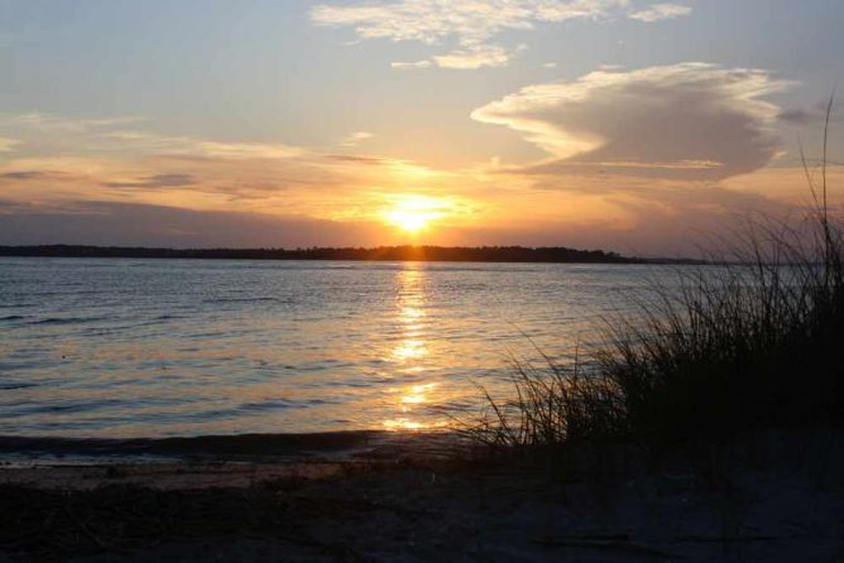 Edisto Beach sunset | © Courtney McGough
