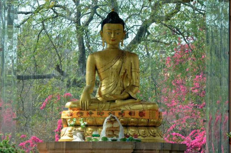 Buddha at Budha Jayanti Park | © Stephen Downes /Flickr
