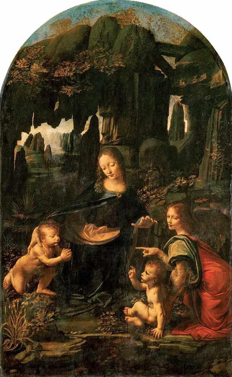 Virgin of the Rocks (Louvre)