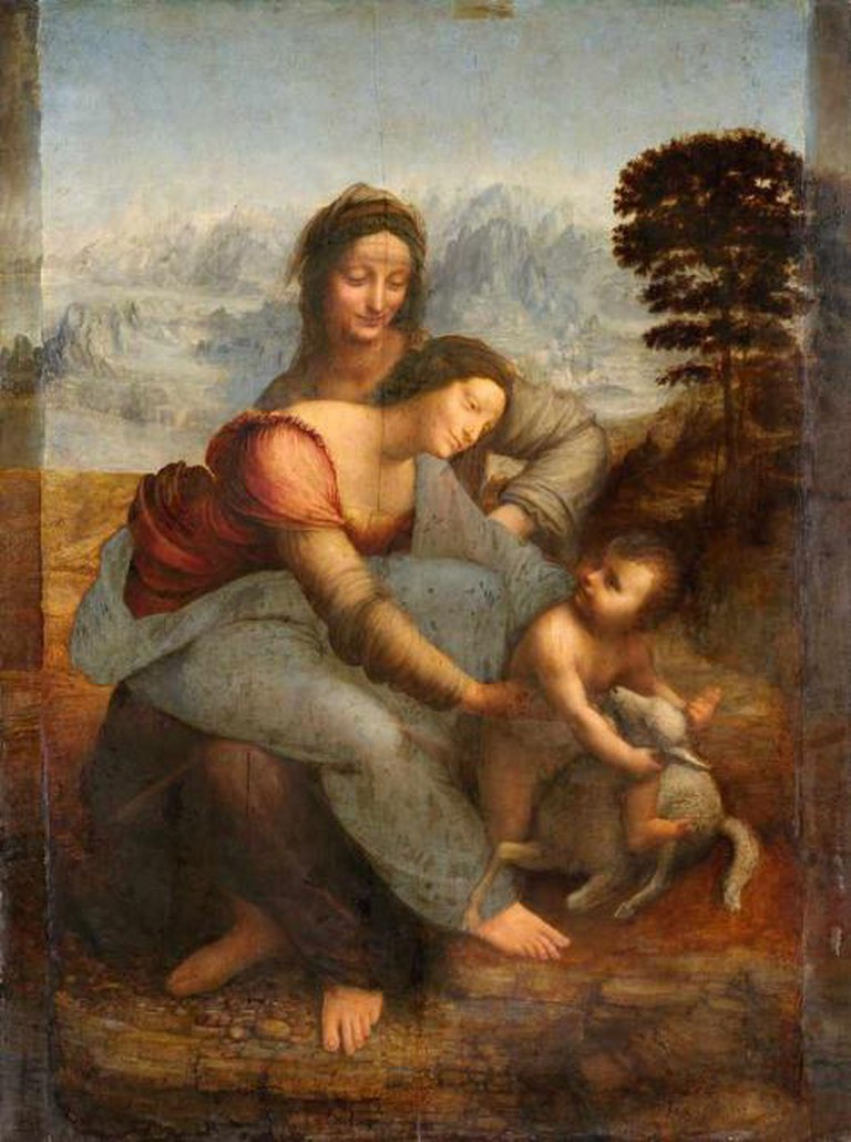 Virgin and Child with St. Anne