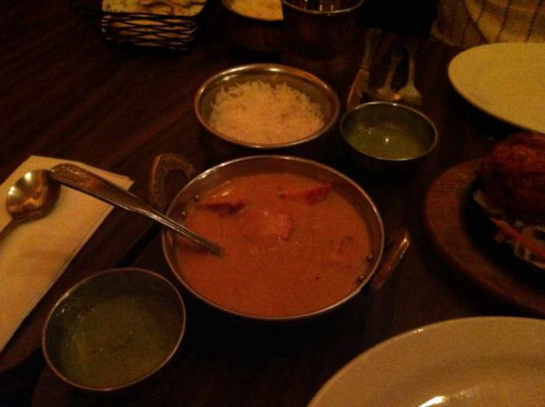 Delicious dishes at Annapurna
