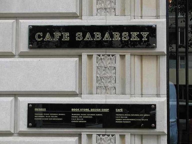 Cafe Sabarsky/ ©stevendamron/Flickr
