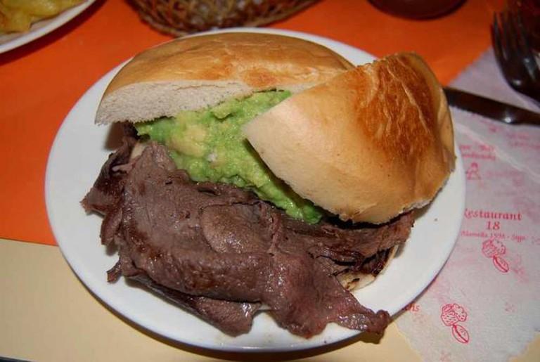 Churrasco Sandwich   © Paul Lowry/WikiCommons