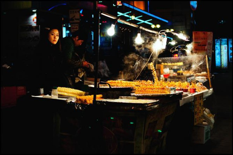 Street food in Korea © JamesJustin/Flickr